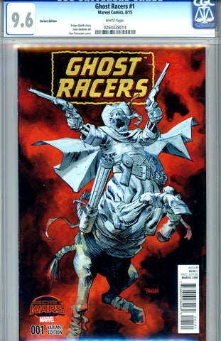 Ghost Racers #1  CGC graded 9.6 - Variant Edition SOLD!