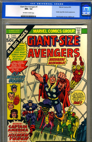 Giant-Size Avengers #1   CGC graded 9.6 - SOLD!