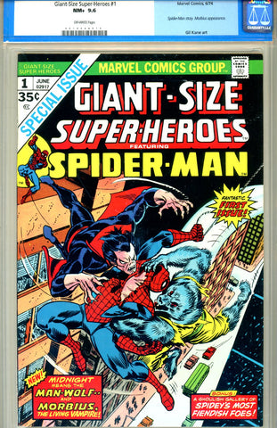 Giant-Size Super-Heroes #1  CGC graded 9.6 SOLD!