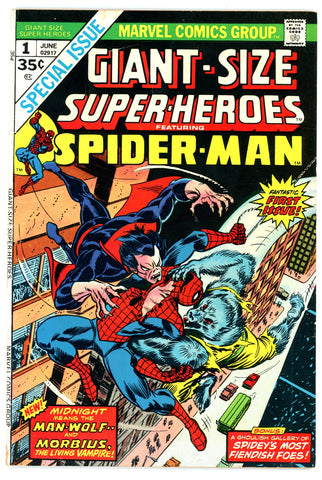 Giant Size Superheroes Spider-Man #01 FINE 1974