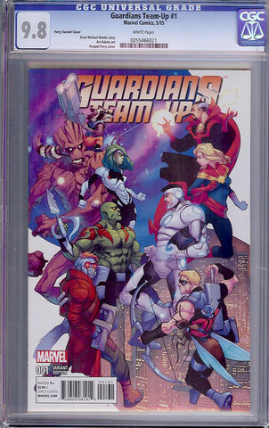 Guardians Team-Up #1  CGC graded 9.8 - Ferry Cvr - HG - SOLD!