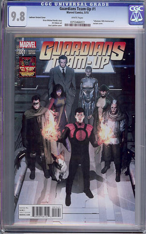 Guardians Team-Up #1  CGC graded 9.8 - Ladronn Cover - HIGHEST - SOLD!