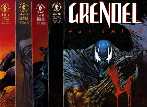 DH - Grendel War Child #1 to #10 VF/NEAR MINT (complete set)