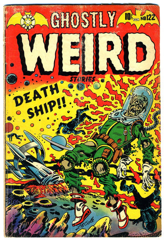 Ghostly Weird Stories #122   VERY GOOD+   1954