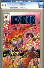 Harbinger #0  CGC graded 9.8  -HIGHEST GRADED- pink variant