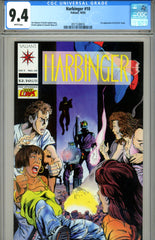 Harbinger #10 CGC graded 9.4 - first H.A.R.D. Corps