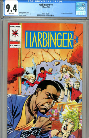 Harbinger #19  CGC graded 9.4