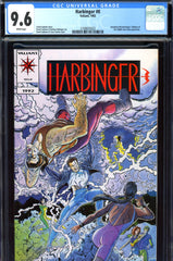 Harbinger #0 CGC graded 9.6 - from trade paperback