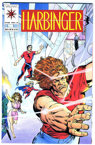 Harbinger #02  NEAR MINT-  (no coupon)