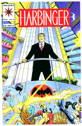 Harbinger #15  NEAR MINT-