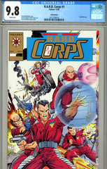 H.A.R.D. Corps #1 CGC graded 9.8 HIGHEST GRADED Gold Edition