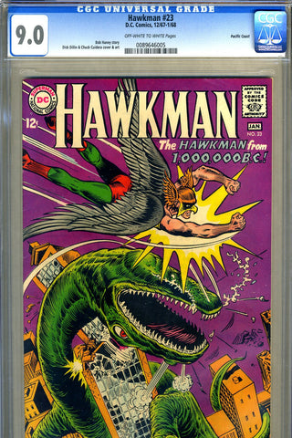 Hawkman #23   CGC graded 9.0 -  PC Pedigree - SOLD!