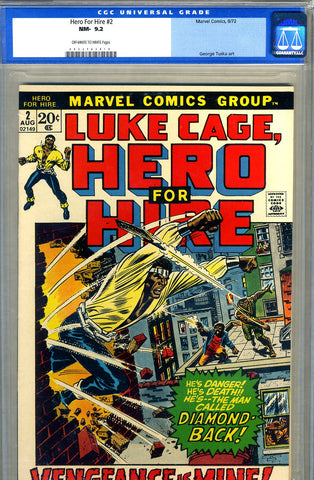 Hero for Hire #2  CGC graded 9.2 - SOLD