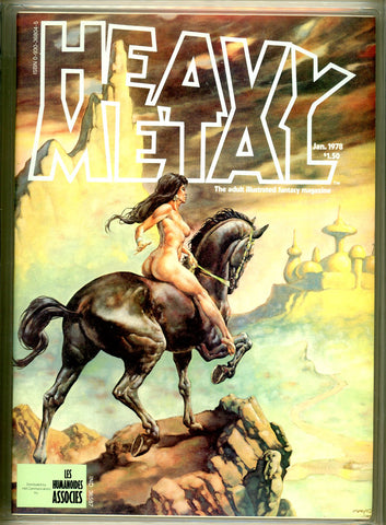 Heavy Metal #10 CGC graded 9.6 - SOLD!