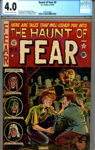 Haunt Of Fear #09 CGC graded 4.0 SOLD!