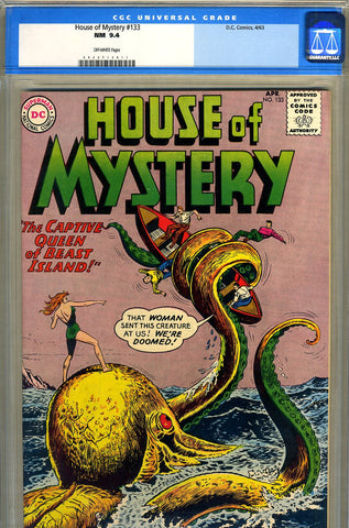 House of Mystery #133   CGC graded 9.4 - SOLD
