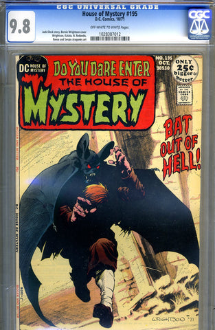 House of Mystery #195   CGC graded 9.8 - HIGHEST GRADED SOLD!