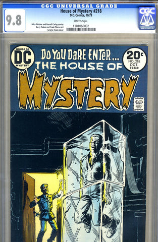 House of Mystery #218   CGC graded 9.8 - SOLD