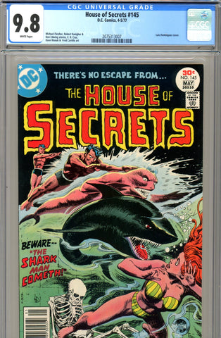 House of Secrets #145 CGC graded 9.8 HIGHEST GRADED  white page