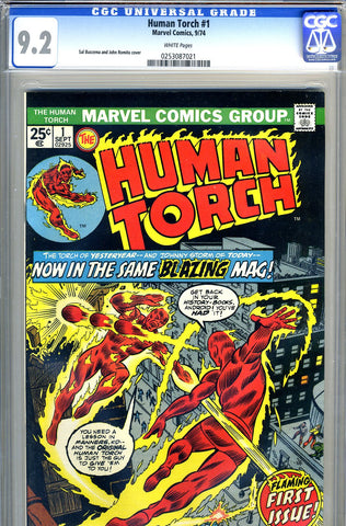 Human Torch #01   CGC graded 9.2 (1974) - SOLD!
