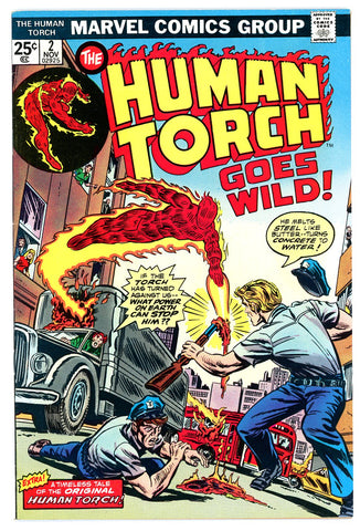 Human Torch #2  VERY FINE+ 1974