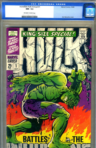 Incredible Hulk Special #1  CGC graded 9.2 - SOLD