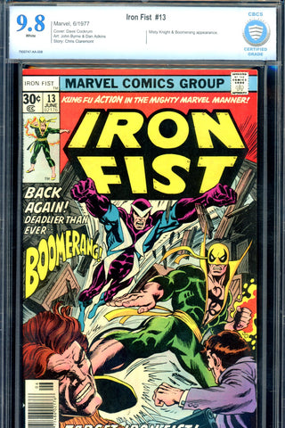 Iron Fist #13 CBCS graded 9.8 - HIGHEST GRADED