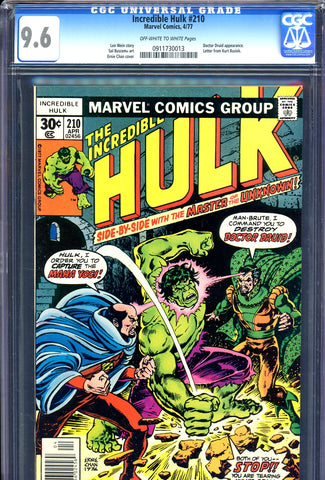 Incredible Hulk #210 CGC 9.6 - Doctor Druid/Maha Yogi-c