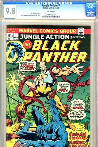 Jungle Action #07 CGC graded 9.8 - first Venomm