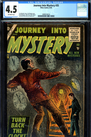 Journey into Mystery #035 CGC graded 4.0