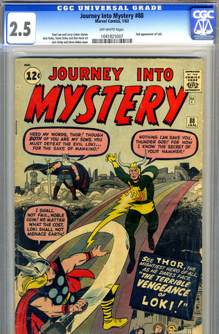 Journey into Mystery #088   CGC  graded 2.5 - SOLD!