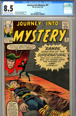 Journey Into Mystery #091 CGC graded 8.5  SCARCE IN GRADE - PENDING