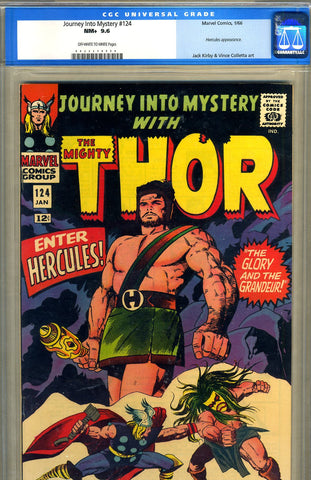 Journey into Mystery #124  CGC graded 9.6  SOLD!