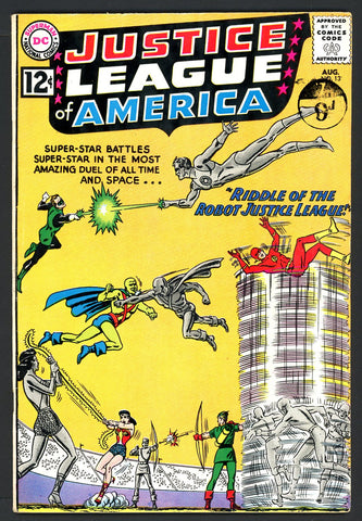 Justice League of America #13   FINE   1962