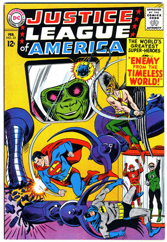 Justice League of America #33   VERY FINE   1965