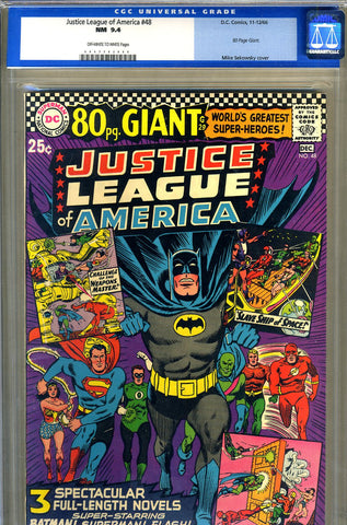 Justice League of America #48   CGC graded 9.4 - Giant - SOLD