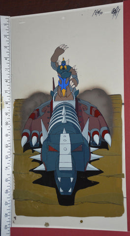 "Original production cel -""King Arthur""- by Golden Films 289 SIZE 18.25"" x 10.50"""