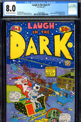 Laugh In the Dark #1 CGC graded 8.0