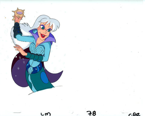 "Original production cel -""Little Mermaid""- by Golden Films 021"