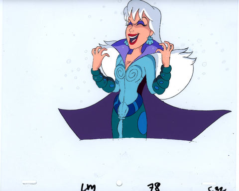 "Original production cel -""Little Mermaid""- by Golden Films 024"