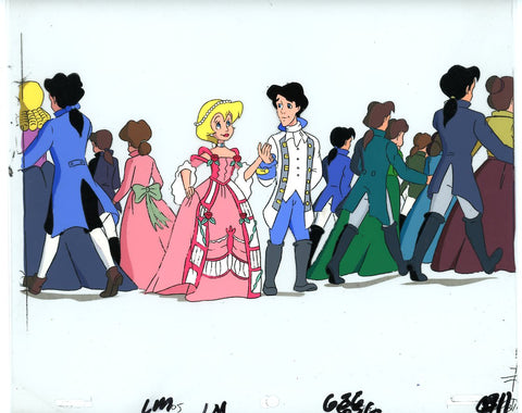 "Original production cel -""Little Mermaid""- by Golden Films 031"