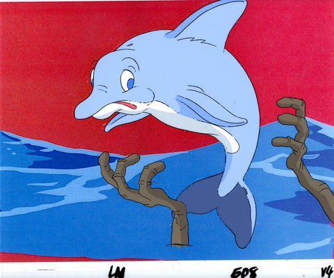 "Original production cel -""Little Mermaid""- by Golden Films 051"