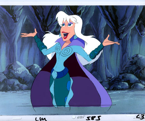 "Original production cel -""Little Mermaid""- by Golden Films 064"