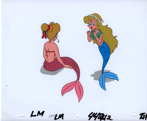 "Original production cel -""Little Mermaid""- by Golden Films 066"