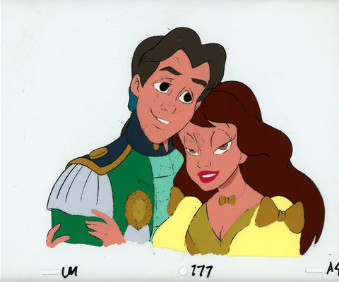 "Original production cel -""Little Mermaid""- by Golden Films 091 LARGE"