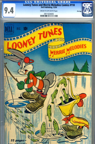 Looney Tunes & Merrie Melodies #110 CGC graded 9.4 HG SOLD!
