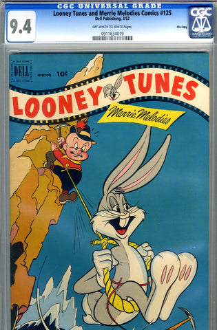 Looney Tunes & Merrie Melodies #125   CGC graded 9.4 - SOLD!