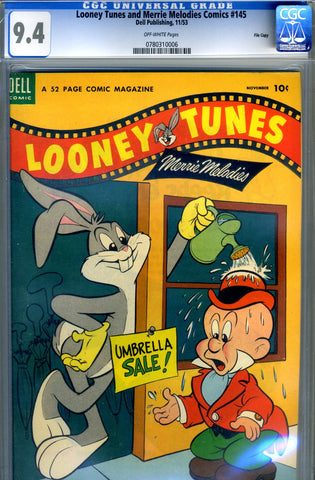 Looney Tunes & Merrie Melodies #145   CGC graded 9.4 SOLD!