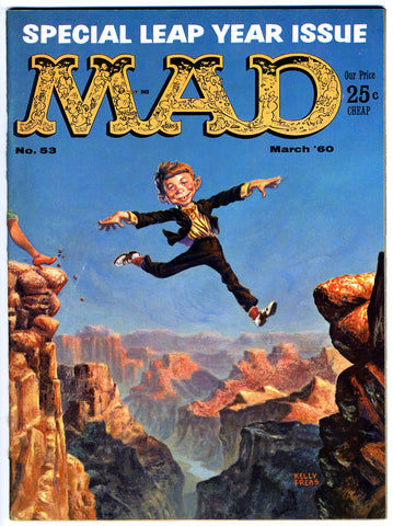 MAD magazine #053   VERY FINE-   1960