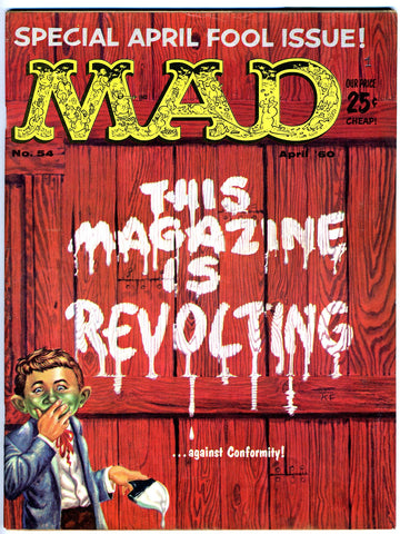 MAD magazine #054   VERY FINE-   1960